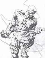 Daredevil Drawing Coloring Comics Drawings Marvel Comic Sketch Pencil Clipart David Finch Coloringhome Getdrawings Library Popular sketch template