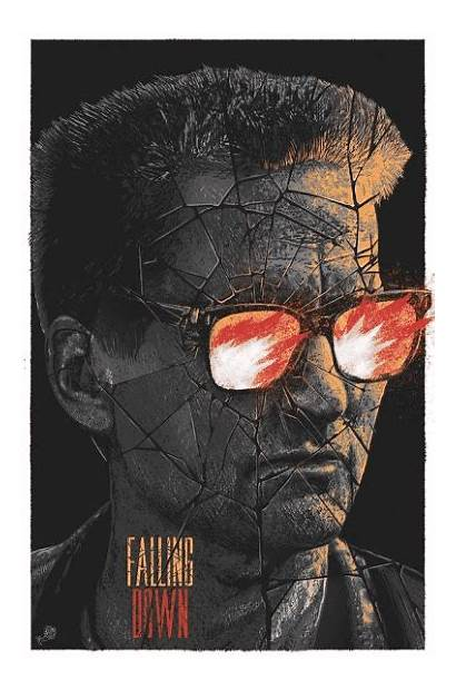 Falling Down Poster Posters 1993 Fan Superhero
