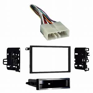 Geo Metro 1992-1997 Double Din Aftermarket Stereo Harness Radio Install Dash Kit