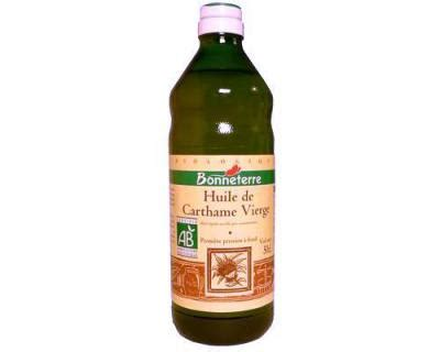 huile de carthame cuisine huile de carthame fiche huile de carthame et recettes de