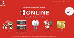 Nintendo U0026 39 S Switch Online Service Goes Live Today In The U S