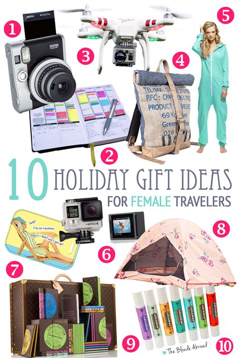 10 holiday gift ideas for female travelers the blonde abroad