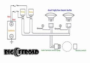 Big Offroad Headlight Wiring Kit