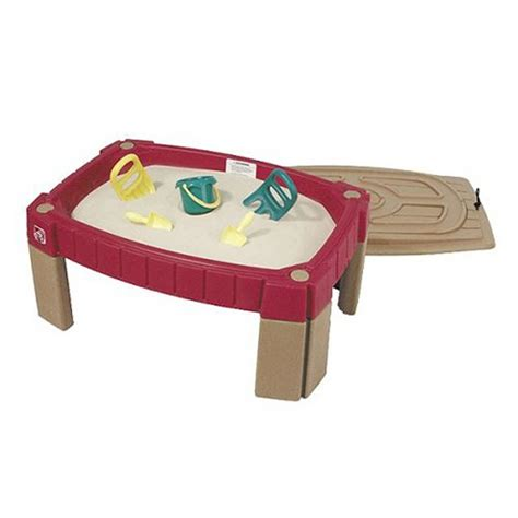how to sand a table step2 naturally playful sand table kids play cover shovel