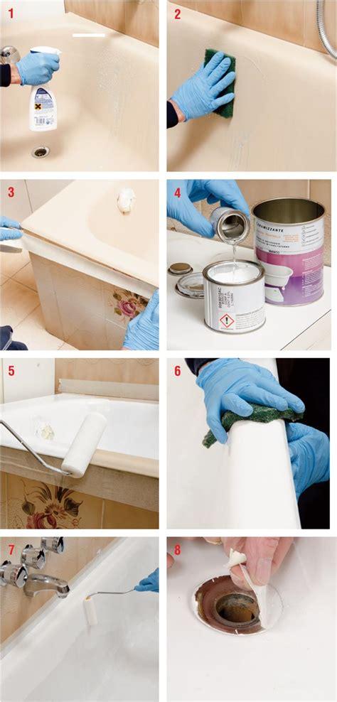 rinnovare vasca da bagno rinnovare la vasca da bagno fai da te bricoportale it