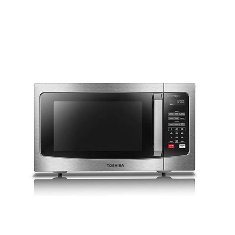 countertop microwave stainless steel toshiba 1 6 cu ft stainless steel countertop microwave