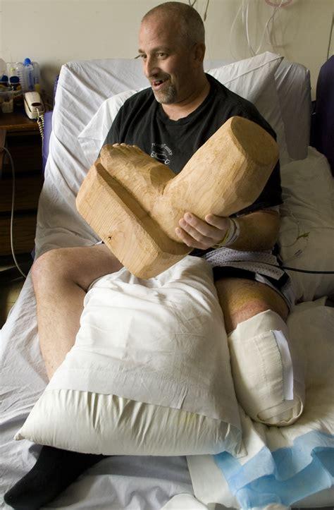 gruesome accident  lentil bin  stop desmet man