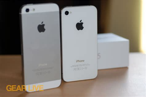 iphone 4s vs iphone 5 iphone 5 and iphone 4s rear panels iphone 5 vs iphone