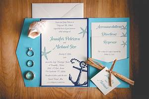 Invitation card beach themed wedding invitation invite for Beach themed wedding invitations nz