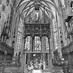 Ulmer Münster the original main altar was destroyed by the ...