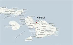 Kahului Maui Hawaii Map