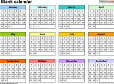 Yearly Calendar Printable printable calendar yearly