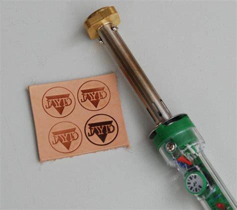 leather stamp tool heat embosser branding iron custom