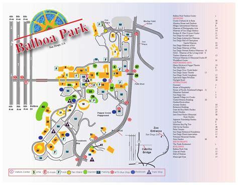 Balboa Park Site Map By Josh Ramage  Issuu