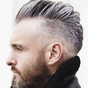 Coupe Homme Cheveux Gris : mode cheveux gris homme ~ Melissatoandfro.com Idées de Décoration