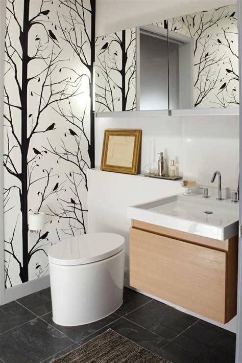 fresque murale salle de bain salle de bains avec wc 55 id 233 es de meubles et d 233 co