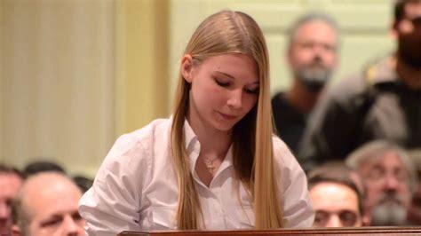 Year Old Girl Leaves Antigun Politicians Speechless