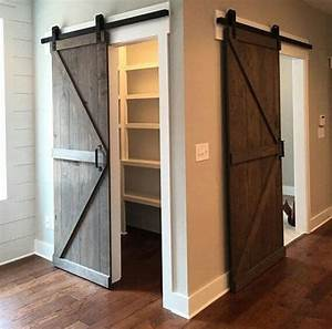 30 sliding barn door designs and ideas for the home With barn door wide opening