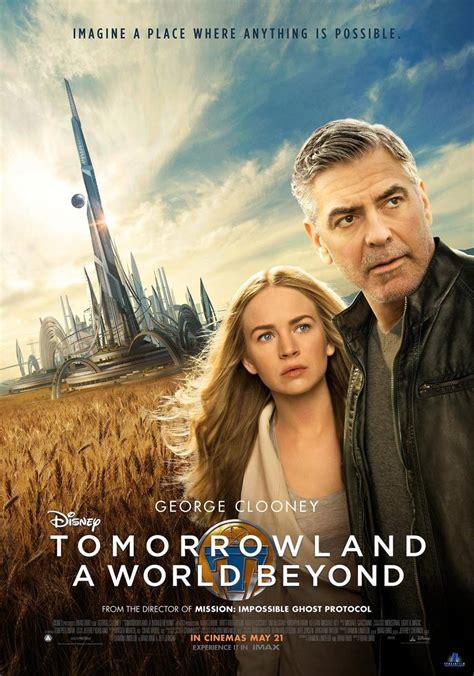 tomorrowland  poster  trailer addict