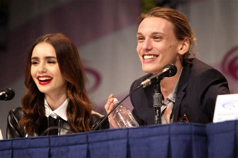 Lily Collins, Jamie Campbell Bower, 2013 Wondercon