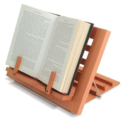 Pinterest Kitchen Cabinet Ideas - wooden reading rest book stand display holder for cookery music books ect ebay