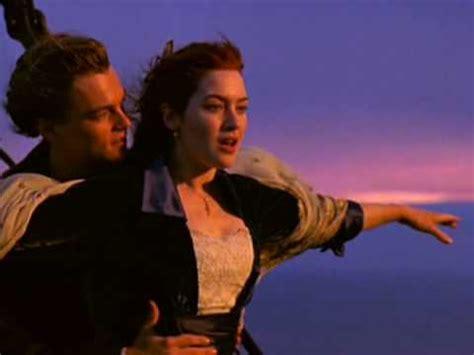 Titanic Boat Scene Pic by Titanic Quot I M Flying Quot Scene Youtube