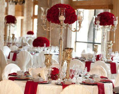 Red Gold and Ivory Wedding Wedding colors and