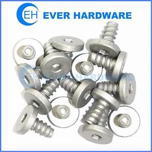Aluminum Screws Socket Flat Head 6061 Cover Fasteners ...