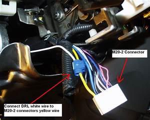 Hyundai Santa Fe Daylight Running Lights Modification