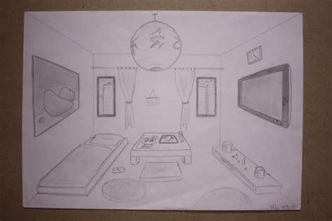 chambre en perspective dessin de dessin photographie dessin photographie