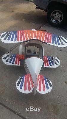 aviat christen eagle pedal air plane  pedal car vintage