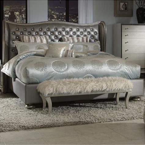 swank bedroom set 03014 78 aico furniture swank bed