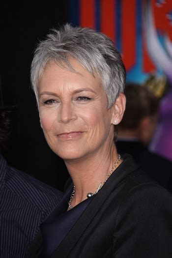 hairstyles jamie lee curtis short spiky hairstyle