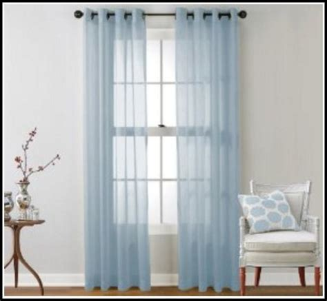 light blue sheer curtain panels page home