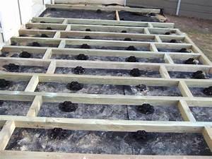 Terrasse Sur Sable : terrasse bois composite fiberon directement sur pelouse 41 messages ~ Melissatoandfro.com Idées de Décoration
