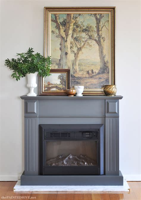 easy diy marble hearthand  fireplace makeover