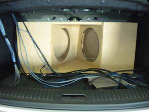 Cadillac Cts-v Custom Subwoofer Box Images
