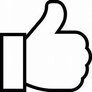 Thumbs Up Svg Png Icon Free Download (#423440 ...
