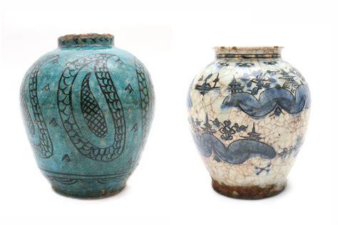 vintage vases for sale antique style ceramic vases set of 2 for sale at