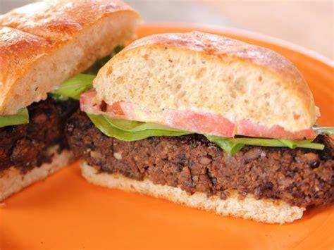 black bean burger recipe black bean burger recipe ree drummond food network
