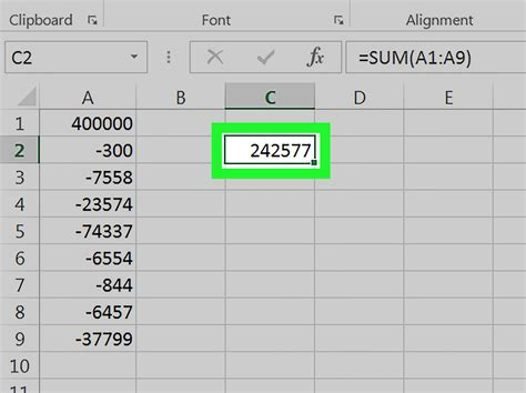 3 Ways to Subtract in Excel wikiHow