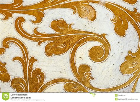 gold leaf design gold flourish design white background stock photo