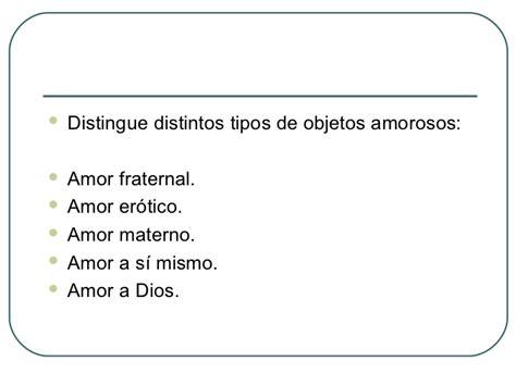 Tipos De Amor Distintos Tipos De Amor