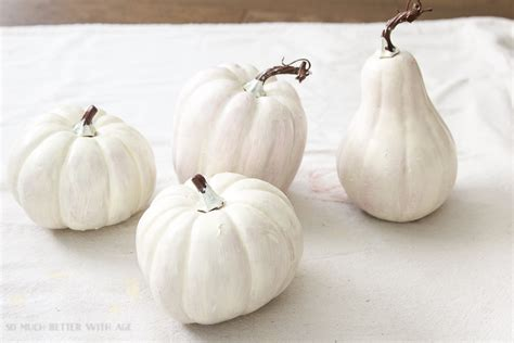 plastic white pumpkins diy heirloom pumpkin tutorial so much better with age