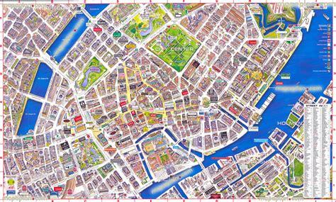 Copenhagen Tourist Map And Travel Information Download