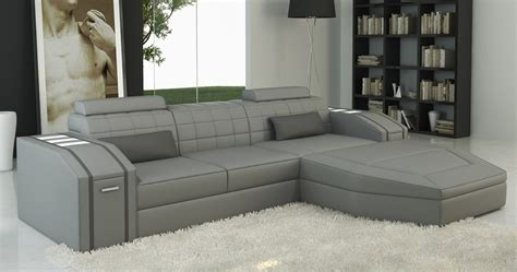 canape angle cuir gris deco in canape d angle cuir design gris jupiter