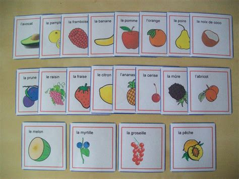 Boost Up Your French: Introduce French Words to Children ...