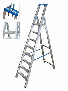 Leiter 8 Stufen : krause leiter profi stufen stehleiter 8 stufen 124555 ~ Watch28wear.com Haus und Dekorationen