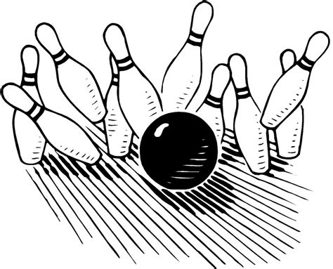 Free Bowling Clipart Best Bowling Clipart 7606 Clipartion