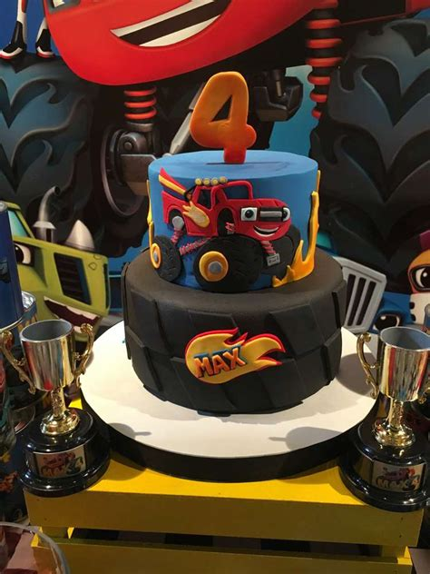 Blaze And The Monster Machine  Ee  Birthday Ee   Party  Ee  Ideas Ee   Photo